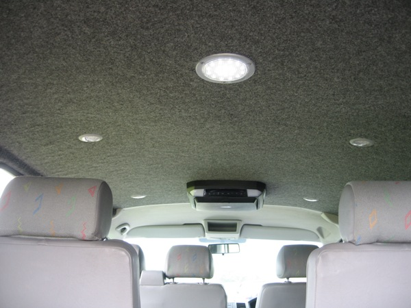Interior LED Lighting (click to enlarge)