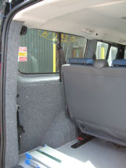 Fiat Scudo with carpet (Click to enlarge)