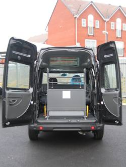 Fiat Doblo with Portaramp (Click to enlarge)